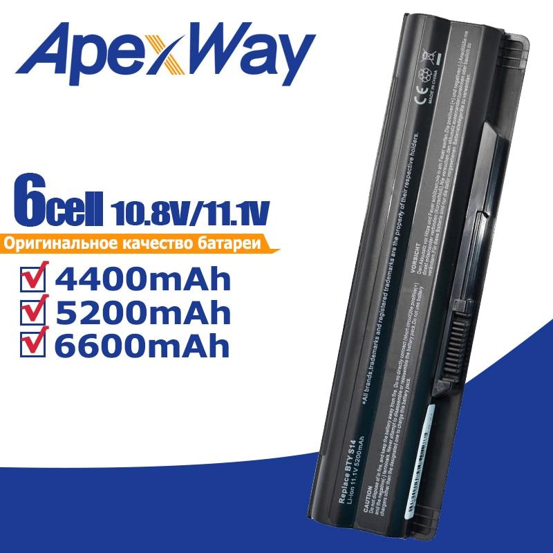 4400mAh bateria para MSI BTY-S14 BTY-S15 CR650 CX650 FR400 FR600 FR610 FR620 FR700 FX400 FX420 FX600 FX603 FX610 GE70 GE60 GE620