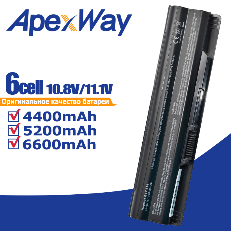4400mAh battery for MSI BTY S14 BTY S15 CR650 CX650 FR400 FR600 FR610 FR620 FR700 FX400 FX420 FX600 FX603 FX610 GE70 GE60 GE620-in Laptop Batteries from Computer & Office on