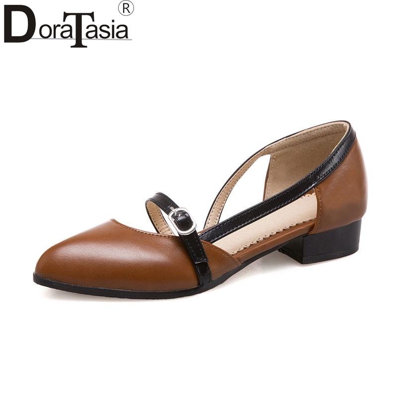 Doraasia 2018 صيف جديد أزياء زائد الحجم 30-47 - أحذية المرأة
