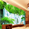 Large Custom Wallpapers Aestheticism Chinese Wind Falls Water TV Bedroom Living Room TV Backdrop