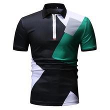 Summer Tops Mens Clothing Plaid Men Polo Shirt Streetwear Check Casual Tees Lattice Fashion Short sleeve New
