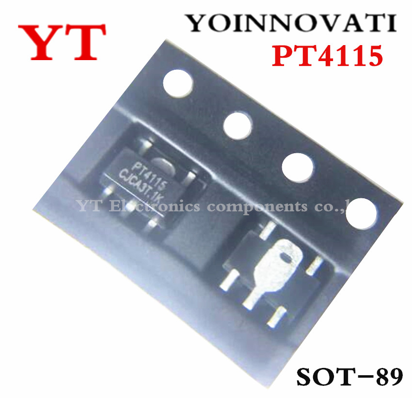 Free shipping <font><b>100</b></font> pcs/lot PT4115 PT4115B89E PT4115B 4115B89E 4115 LED CHIPS LED Drive IC image