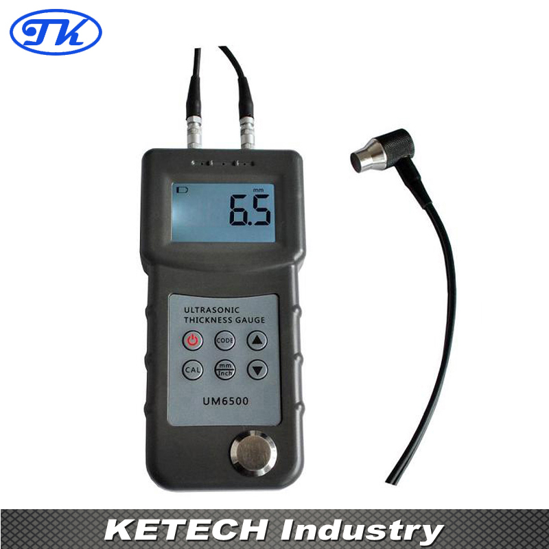 UM6500 Portable Digital Ultrasonic Thickness Gauge Metal Thickness Meter