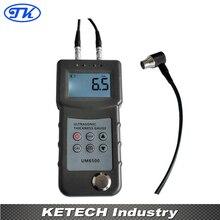 UM6500 Portable Digital Ultrasonic Thickness Gauge,Metal Thickness Meter