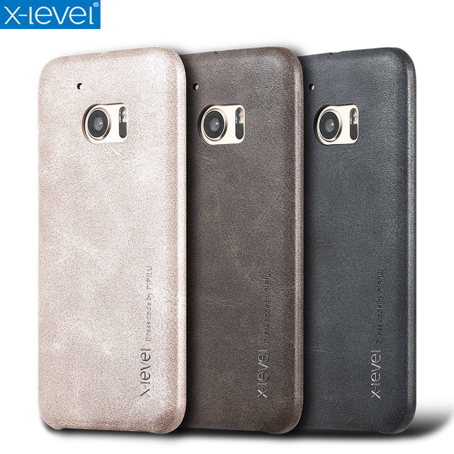 best website d4826 61c8c US $7.54 18% OFF|X Level Vintage Phone Case For HTC One M10 Luxury PU  Leather Back Case Cover For HTC 10-in Fitted Cases from Cellphones & ...