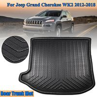 New Tray Liner Cargo Rear Trunk Car styling Interior Accessories Boot Liner Waterproof Mat For Jeep Grand Cherokee WK2 2012 2018