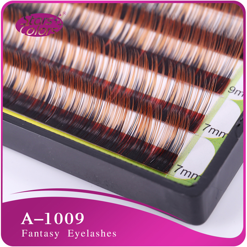 ריסים ריסים צבעוניים צבעוניים 0.1ml C Curl צבעי ריסים ריסים טבעיים
