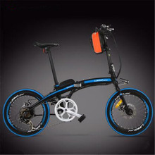 Folding MBX ,20-inch 36/48v lithium battery adult electric bicycle portable bike