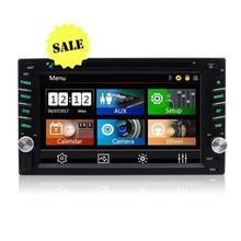 Car Electronics Audio 2 Din Stereo Radio DVD Player Multimedia Head Unit-Touchscreen Bluetooth DVD/CD USB/SD AM/FM MP3 Monitor