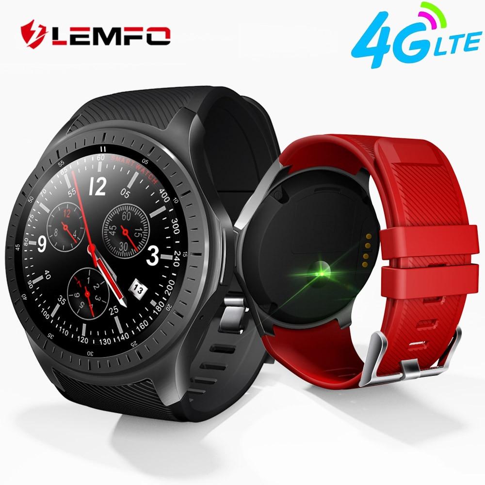 LEMFO LF25 Android 7.1 Smart Watch MTK6739 1.3 inch GPS Wifi 4G Bluetooth Watch Phone Heart Rate Monitor Smartwatch 1GB + 16GB