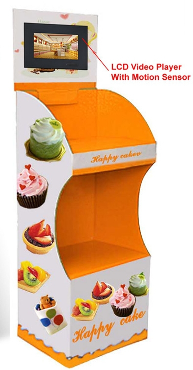 Wholesale Cosmetics Displays With Lcd Screen Supermarket POP Electronic Consumer Machine