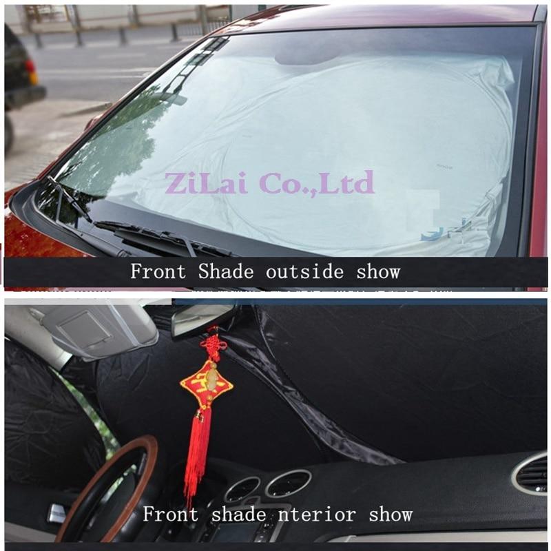 LMoDri Car Window Sun Shade Auto Windshield Visor Cover Front Rear Side Window  Sunshade UV Protect Car Window Film 6pcs set-in Front Window from  Automobiles ... ee57135f4c8