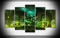 6778 WoW Legion Blizzard Blizzard Legion Box Cover Poster Framed Gallery wrap art print home wall decor wall picture Room