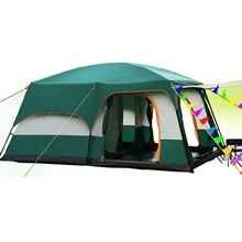 Çöl deve 5 8 kişi kullanımı çift katmanlı rüzgar geçirmez su geçirmez kamp çadırı plaj çadırı Barraca Carpas De kamp