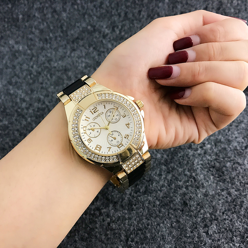 New Arrived Contena Luxury Montre Watch Femme Fashion Ladies Women Rhinestones Full Logo Watches Quartz Mujer Crystal Relojes new arrived contena luxury montre watch femme fashion ladies women rhinestones full logo watches quartz mujer crystal relojes