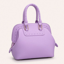 Autumn new women messenger bag shell bag package candy-colored leather handbags small bag famous designer brand shoulder bags