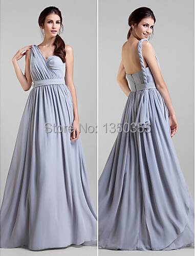 vestido de festa longo Fashion 2015 Long Bridesmaid Dress Convertible Dress  Empire Waist Georgette Long Maid of Honor Dress-in Bridesmaid Dresses from  ... 0e76e98d2eaa