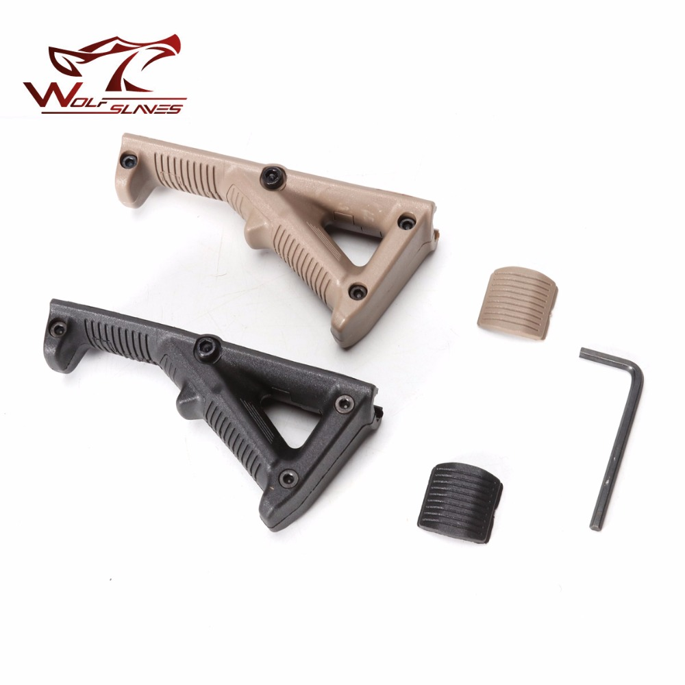 Hot Sale Hand Grip Outdoor Second Generation AFG Angled Foregrip Accessories With Guide Rail For Nerf Toy G Un Accessories