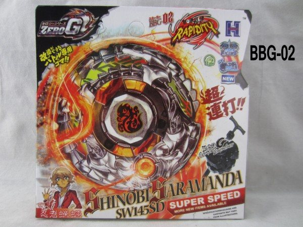 1pcs-BEYBLADE-Zero-G-BBG-02-Shinobi-Saramanda-SW145SD-F0819 (2)