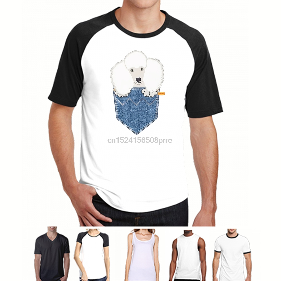 Buy t shirt poodle and get free shipping on AliExpress.com 82c460b2f86d