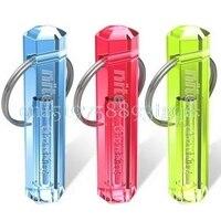 Nite Tritium Glowing Illuminated Keyring Keychain Glow Stick Ring 10 Years