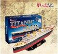 Cubic Fun 3D Paper Puzzle Titanic Ship Models T4011h Adult Child Toys