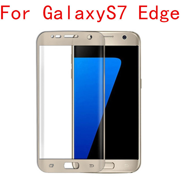 Free shipping S7 Edge completely cover mobile phone screen saver membrane nano 3d surfac eexplosion-proof for Galaxy S7 Edge
