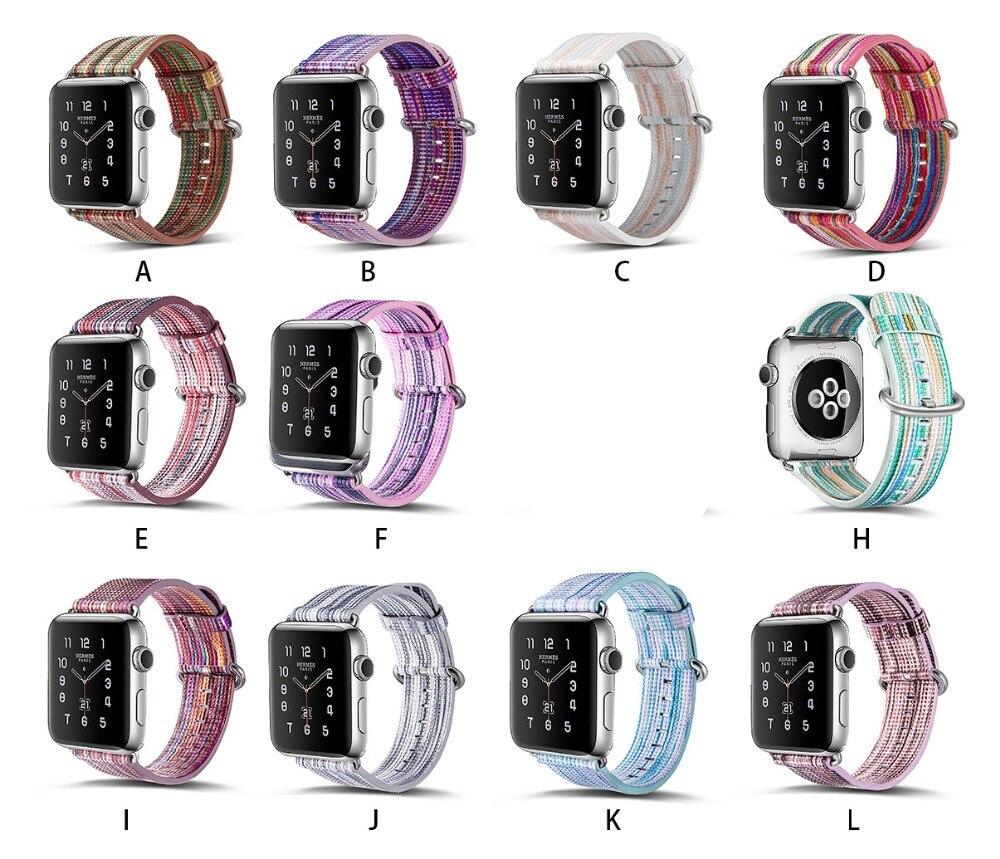CARLYWET 38 42 мм высокое качество прохладный картина умный натуральной кожи замена часы ремешок ремешок ремень для Apple часы iwatch