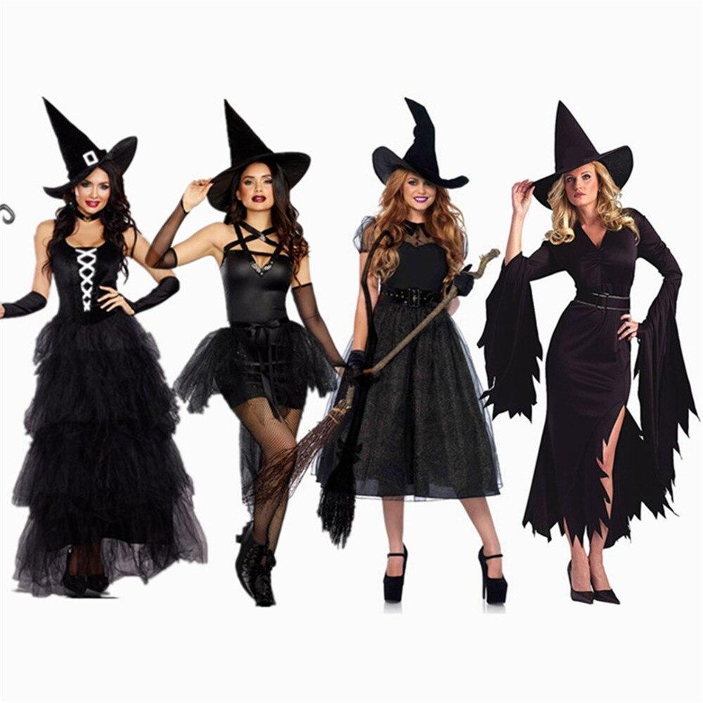 Vestiti Halloween Strega.Halloween Strega Sexy Costumi Adulto Donne Queen Di Carnevale Del Partito Di Cosplay Del Vestito Operato