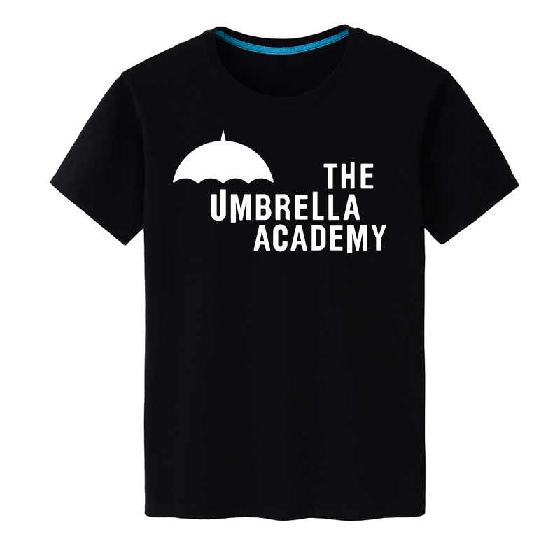 COYOUNG Brand New Fashion Men's T Shirts The Umbrella Academy Logo Short Sleeve 100% Cotton Men Clothing Tee Top Free Shipping
