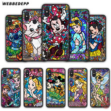 WEBBEDEPP Alice Stitch Mickey Mouse Marie Cat Soft Silicone Case for Xiaomi Mi 6 8 9 SE MAX 3 A1 A2 Lite F1 Cover(China)