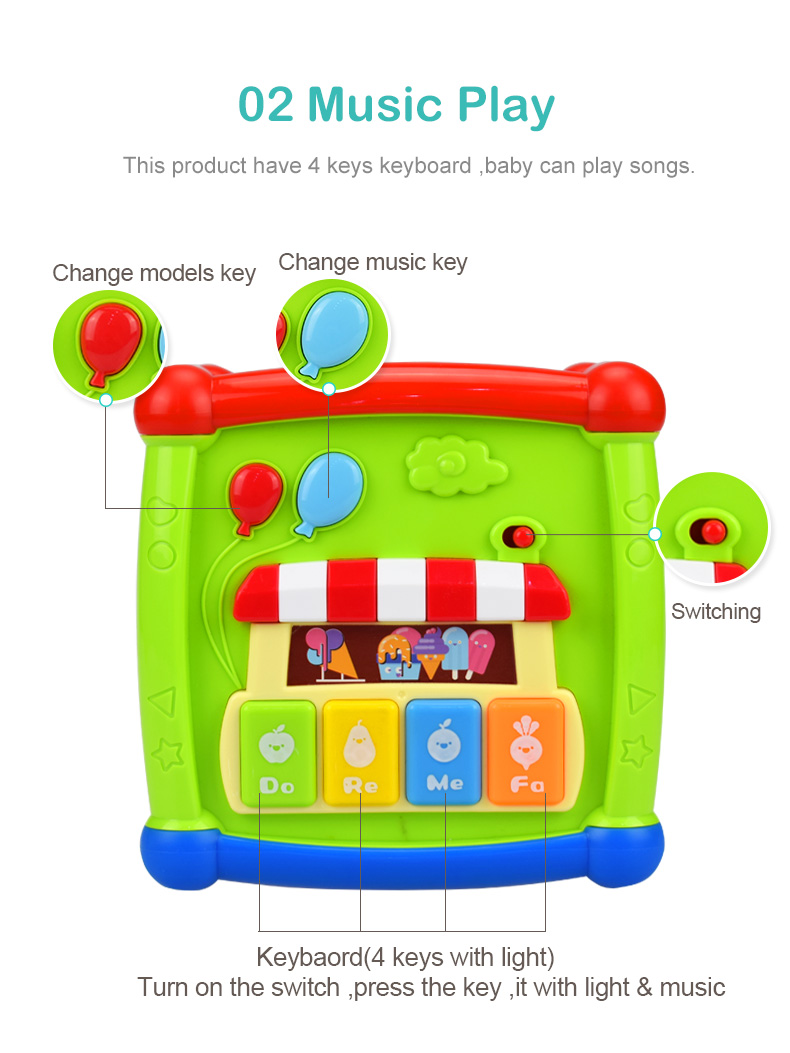 Huanger Color&Shape Matching Toys for Childern Baby Geometric ...