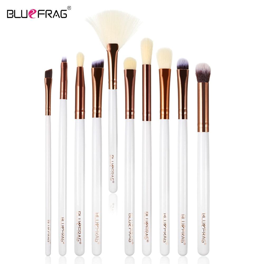 BLUEFRAG Retail 10 stuk make-up oog borstels set borstels make-up - Make-up