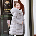 2016 New Arrival Hooded Women Winter Parka Cotton Wide-Waisted Female Winter Jackets And Coats Jaqueta Feminine A2600