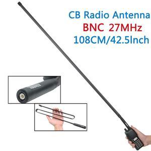Image 2 - ABBREE Tactical Antenna 27Mhz 72/108CM CB Portable Radio with BNC Connector for Cobra Midland Uniden Anytone CB Radio