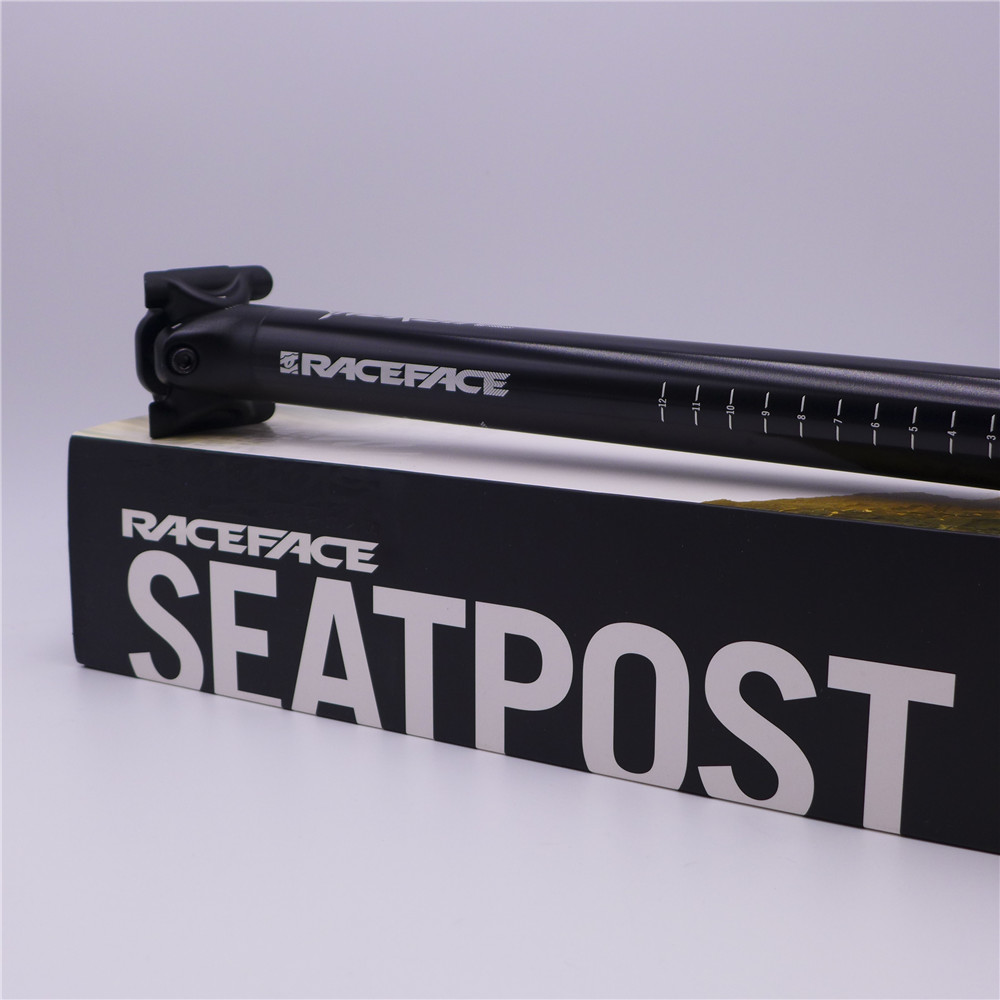 Raceface Turbine Mountain Bike Alloy CNC Seat Post 31 6 400mm Seatpost