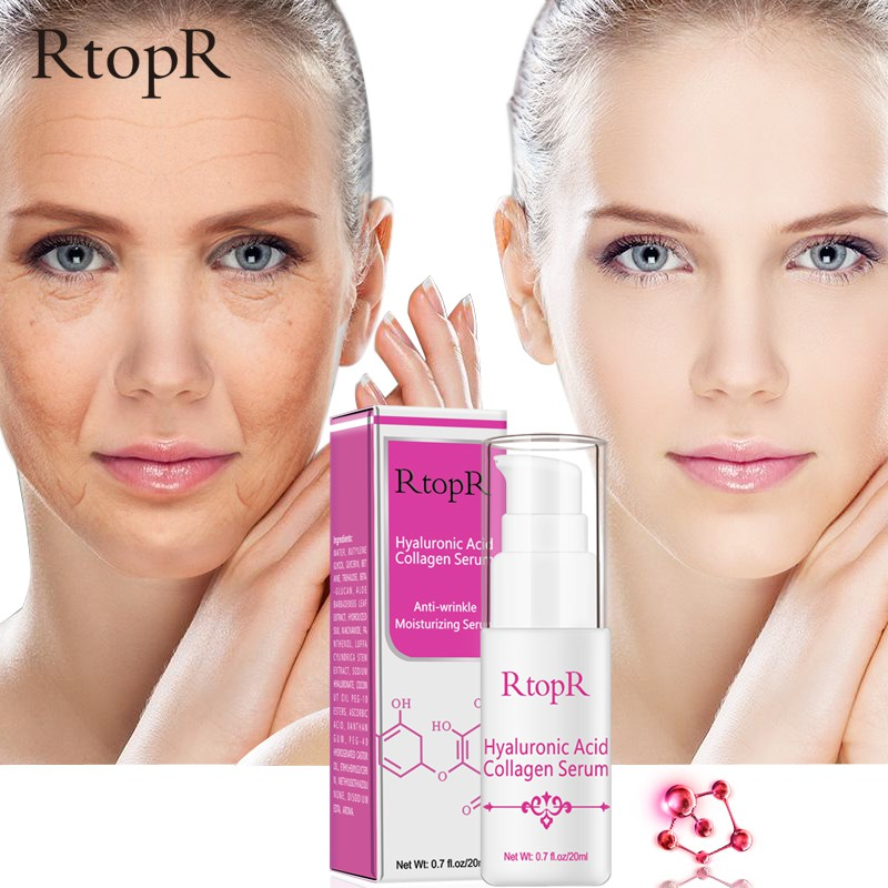High Quality Pure Plant Extract Hyaluronic Acid Liquid Whitening Blemish Serum Ampoules Anti-acne Rejuvenation Serum