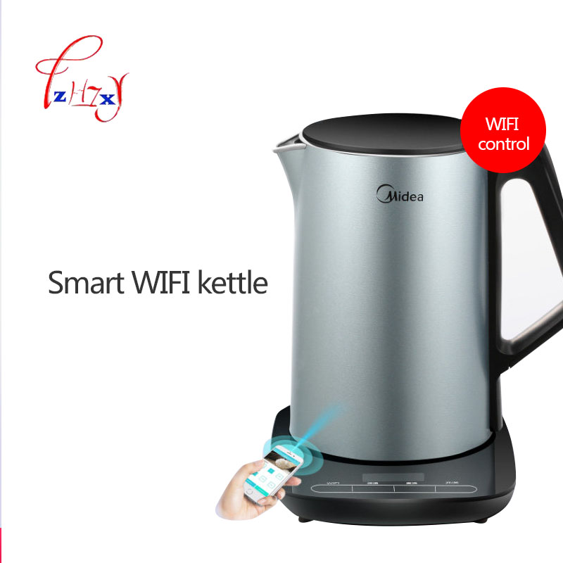 Intelligent WIFI Electric Kettle Hot Insulation In Stainless Steel 1.5L Electric Water Kettle Special Tea Pot WHE1507B 1PC homeleader 7 in 1 multi use pressure cooker stainless instant pressure led pot digital electric multicooker slow rice soup fogao