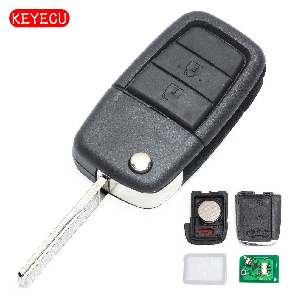 Keyecu полный удаленный Флип брелок 2 кнопки + паника 315 мГц ID46 чип для UTE Холден VE Commodore Omega берлина