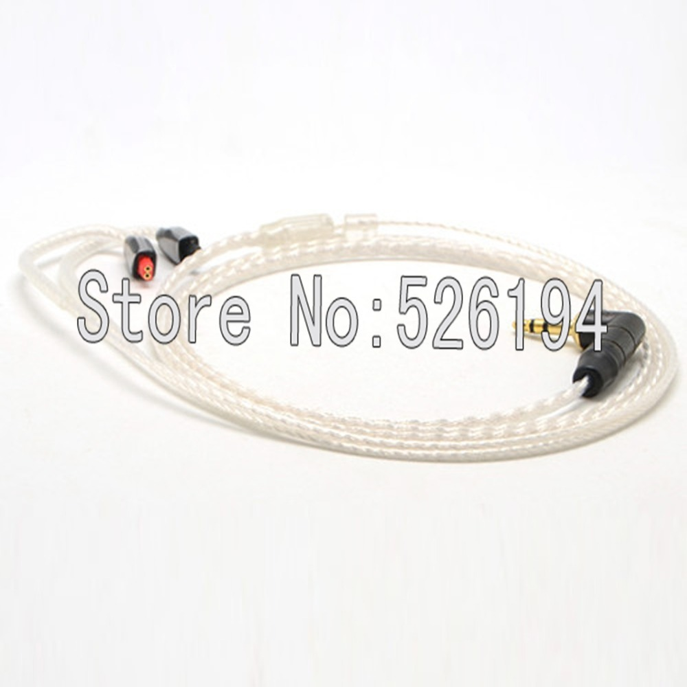 Free shipping 1.2Meter/pieces 5N OFC copper silver plated IE8 IE80 IE8i Earphone Upgrade Cable/Headphone Replacement Cord ручной пылесос handstick dyson v6 cord free extra sv03 350вт желтый