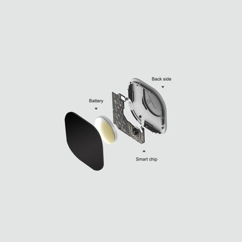 Chave anti-perdido sem fio localizador receptores chaveiro