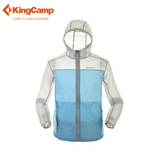 KingCamp Mens Summer Running Jacket Zip Hoodie Sport Coat Spring Sun Protection Outerwear Outdoor Waterproof Quick Dry Jacket