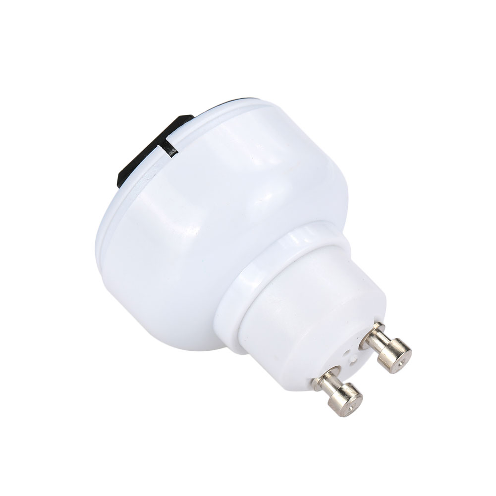1PC Bulb Holder Durable Lamp Adapter GU10 To Two-Pin Power Socket Lamp Base Household Supply Light Parts For EU/ US Plug