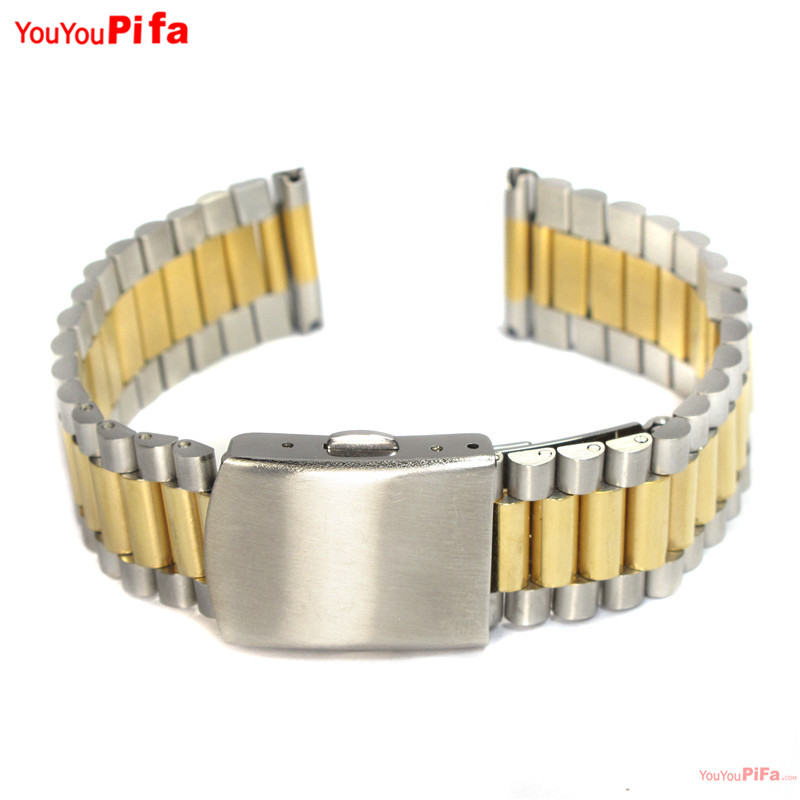 Watch Accessories Relogio Feminino Stainless Steel Bracelet Band 12mm 14mm 16mm 18mm 20mm for 17cm Length Watchband