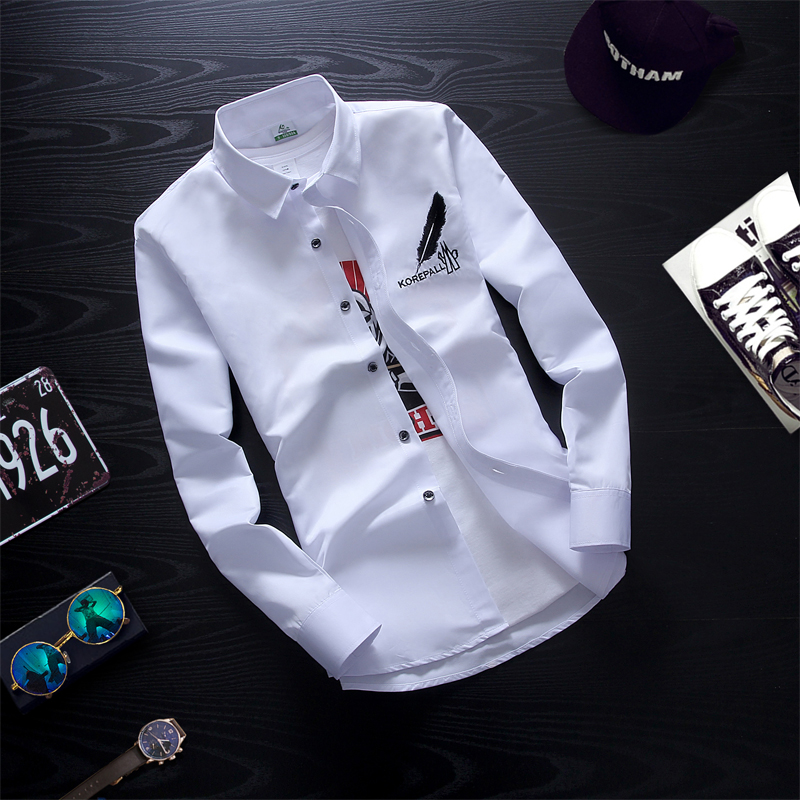 Cheap Wholesale 2019 New Spring Summer Autumn Hot Selling Men's Fashion Casual  Work Shirts MC111