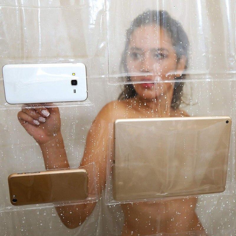 cortina interactiva ducha