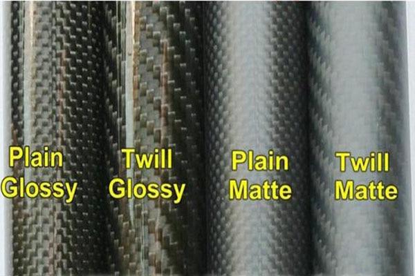 Image 4 - 2 PCS 3K Carbon Fiber circular tube Thickness 1mm OD 32mm  34mm 35mm 38mm 40mm Carbon Fiber Hollow Tube for UAV Model MaterialsParts & Accessories   -