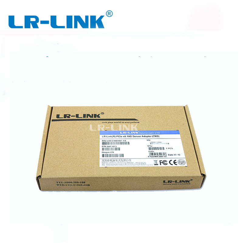 Image 5 - LR LINK 9801BF TX/RX 2 PCS 10Gb Ethernet Network Card(NIC) PCI E 8x Fiber Optical Server Adapter Lan Controller Intel 82599-in Network Cards from Computer & Office