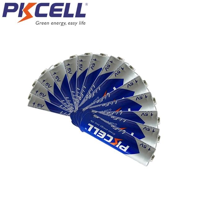 16 개/몫 PKCELL FR14505 FR6 L91 LiFeS2 AA 1.5V 리튬 철 배터리 디지털 카메라에 대 한 3000mAh Li Fe AA 배터리