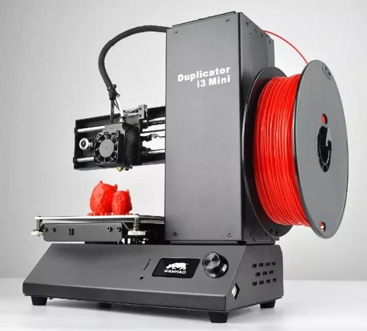 2019 WANHAO Usine Ventes Directes I3 MINI kit maison 3D couleur Imprimante 1.75 MM PLA filament matériau Intelligent DIY Personnels extrudeuse